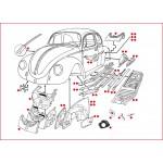 VW kever plaatwerk koetswerk 1