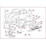 VW Kever plaatwerk koetswerk 2