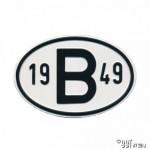 Plaatje B 1949