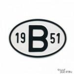 Plaatje B 1951