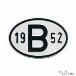 Plaatje B 1952