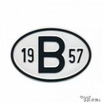 Plaatje B 1957