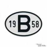 Plaatje B 1958