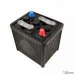 Batterij 6V, 84 Ah, leeg (L...
